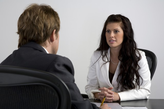 Errores en una entrevista
