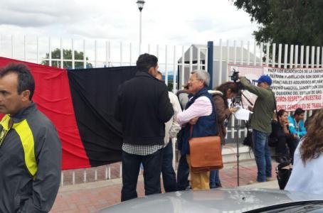 Estalla huelga en Normal de Querétaro