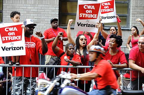 Estalla huelga en Verizon