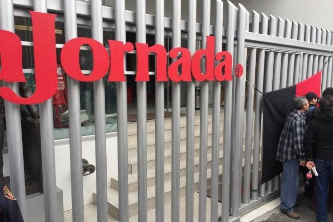 Estalla huelga sindicato de La Jornada