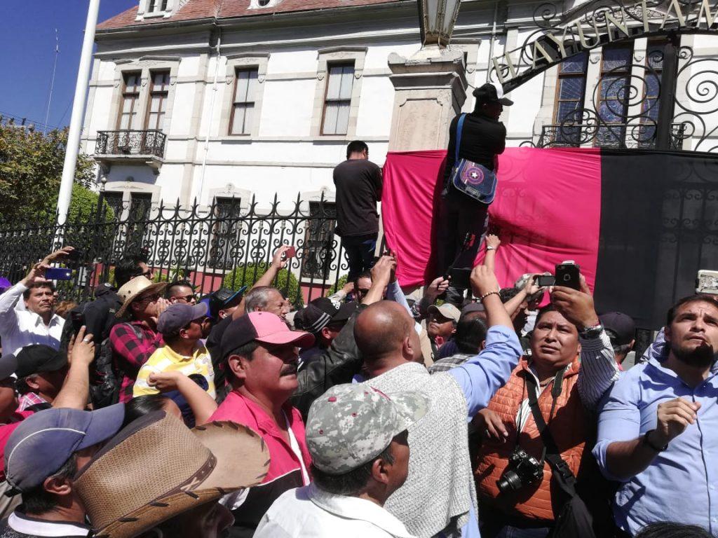 Estalla la huelga en alcaldía de Pachuca