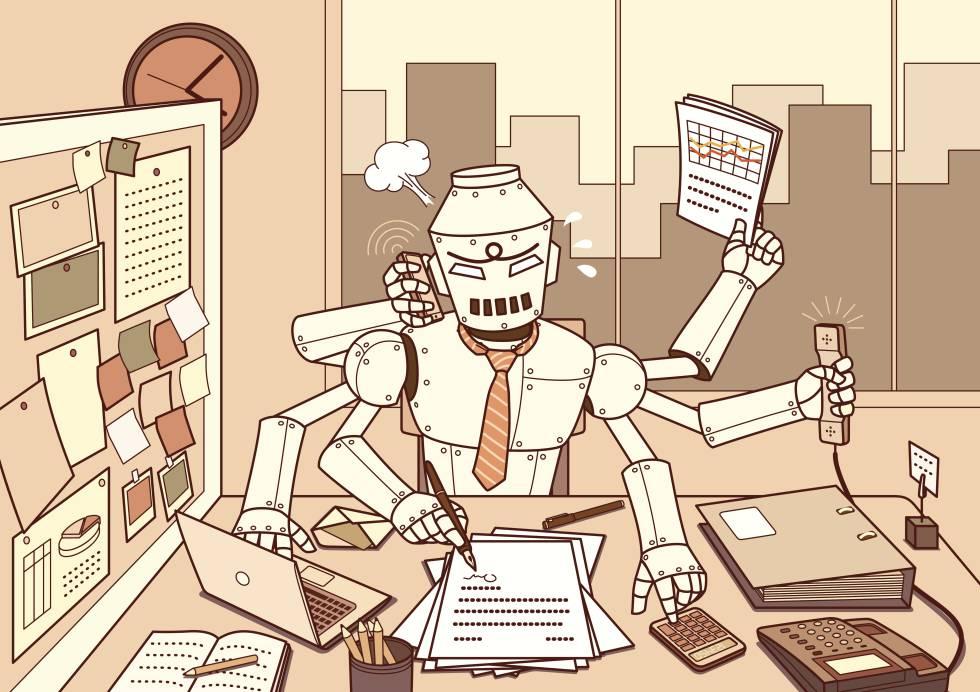 Estas profesiones tendrán problemas laborales por Inteligencia Artificial