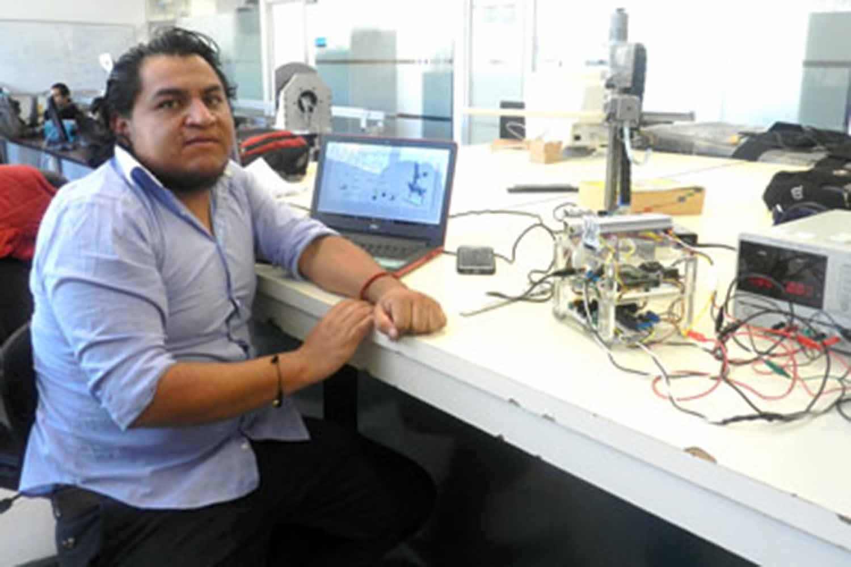 Estudiante diseña robot para estudios de diagnóstico médico
