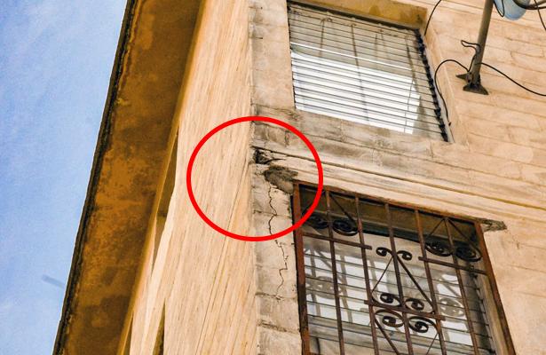 Evalúan daños a viviendas tras sismo