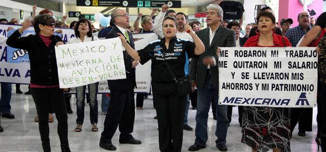 Ex directivos de Mexicana,  primeros en ser liquidados