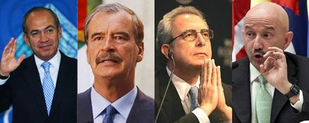 Expresidentes recibirán únicamente pensiones de ISSSTE