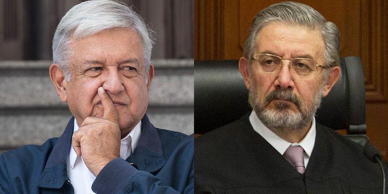 Falsa reconciliación entre AMLO y la SCJN