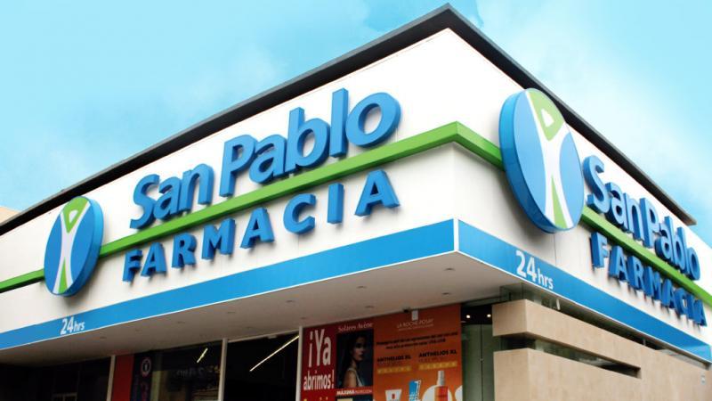 Farmacias San Pablo se pone en línea