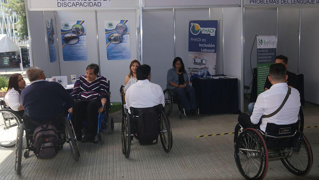 Feria del Empleo Incluyente ofreció 200 vacantes