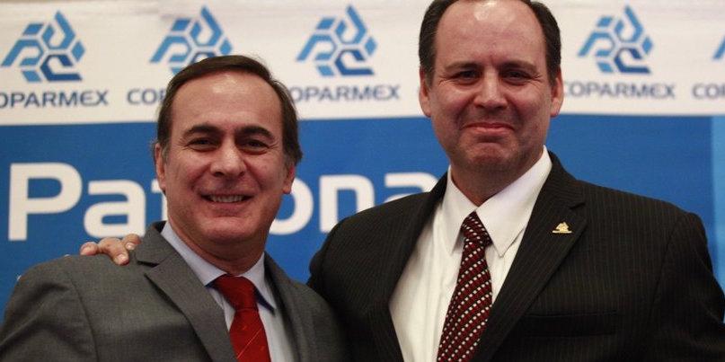 Frena CCE ímpetu de Coparmex en alza a los mínimos