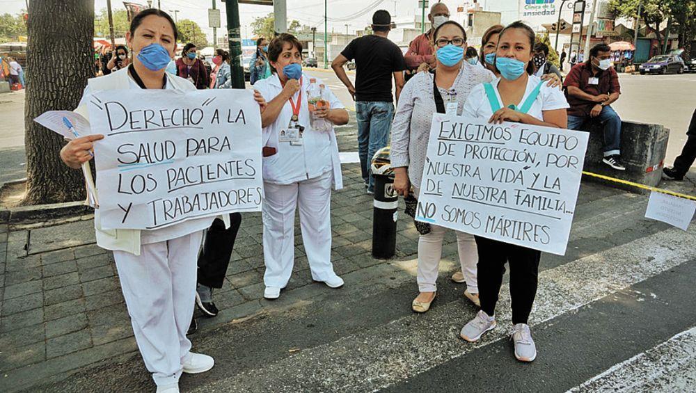 FSTSE pide se dote a trabajadores de la salud de insumos de calidad