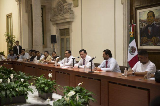 Gobernación y CNTE logran primer acuerdo
