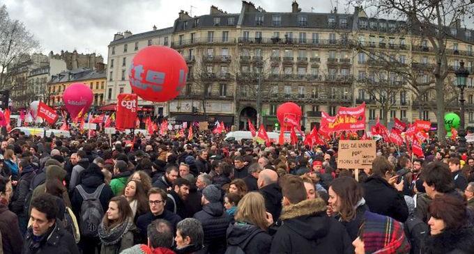 Gobierno de Francia, firme con la reforma laboral