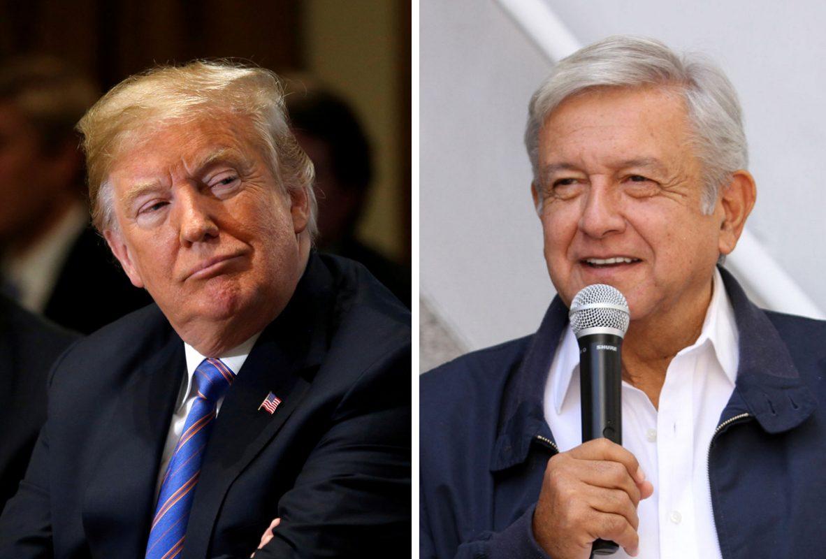 Hablan AMLO y Trump vía telefónica sobre migración y empleo en CA y México