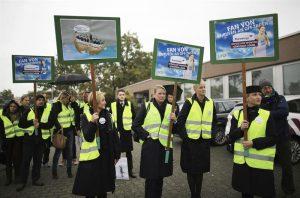 Huelga de Eurowings deja 380 vuelos en tierra