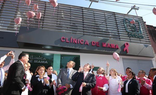 IMSS abrirá otras 4 clínicas de mama