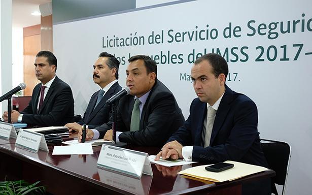 IMSS da a conocer a empresas ganadoras de licitación para seguridad