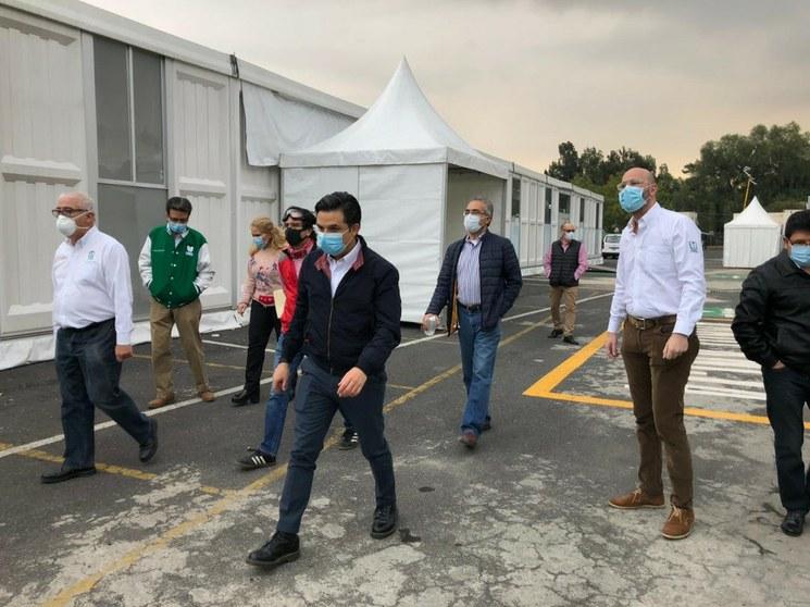IMSS habilita hospital de expansión para atender pacientes Covid-19