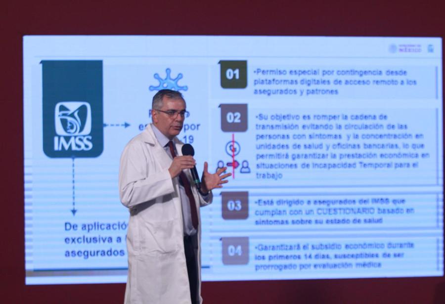 IMSS tramita 43,000 incapacidades por casos sospechosos de Covid-19