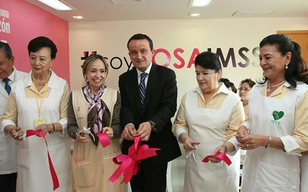 Inaugura IMSS lactario