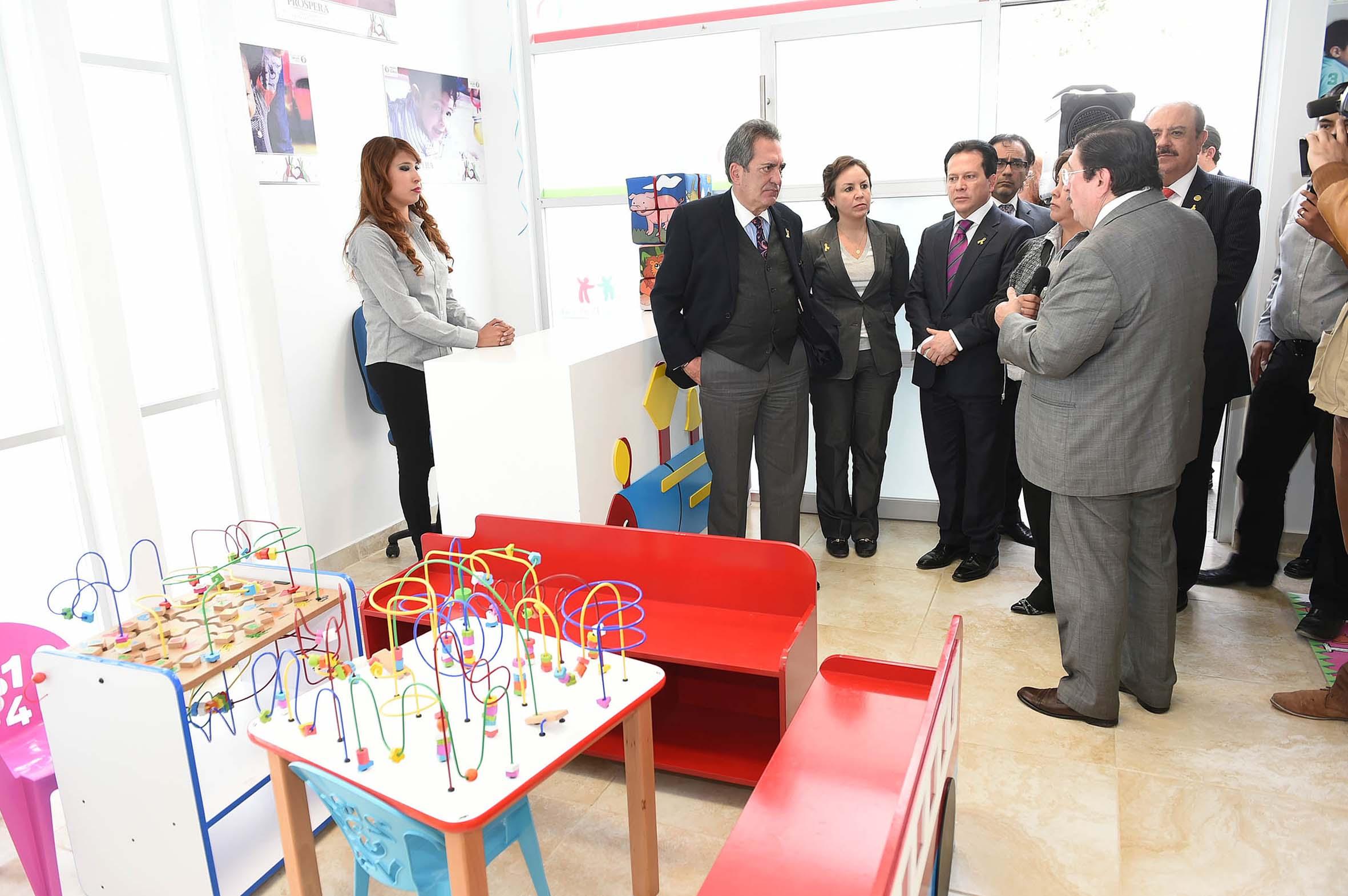 Inauguran centro regional de desarrollo infantil