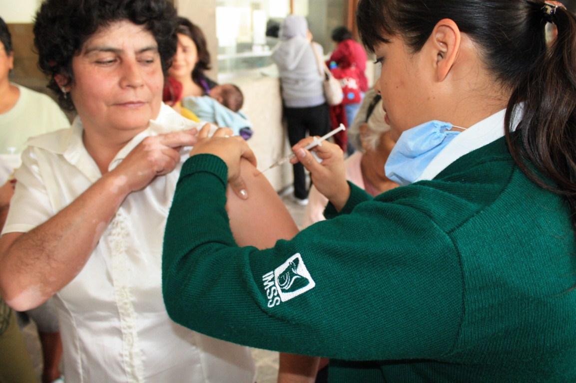 Incapacita influenza a 100 mil en el IMSS