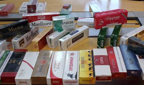 Inflan datos de cigarros ilegales