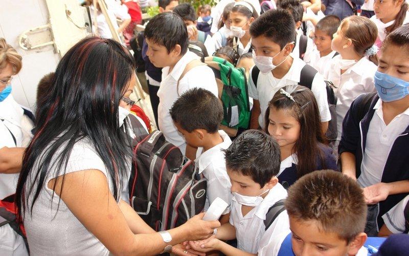 Instala SEP Y Ssa filtros escolares contra influenza