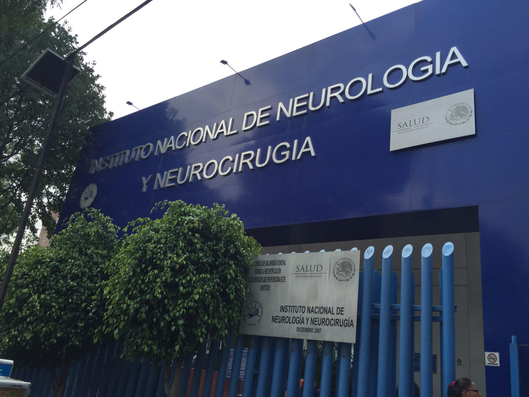 Instituto Nacional de Neurología se queda sin equipos especializados