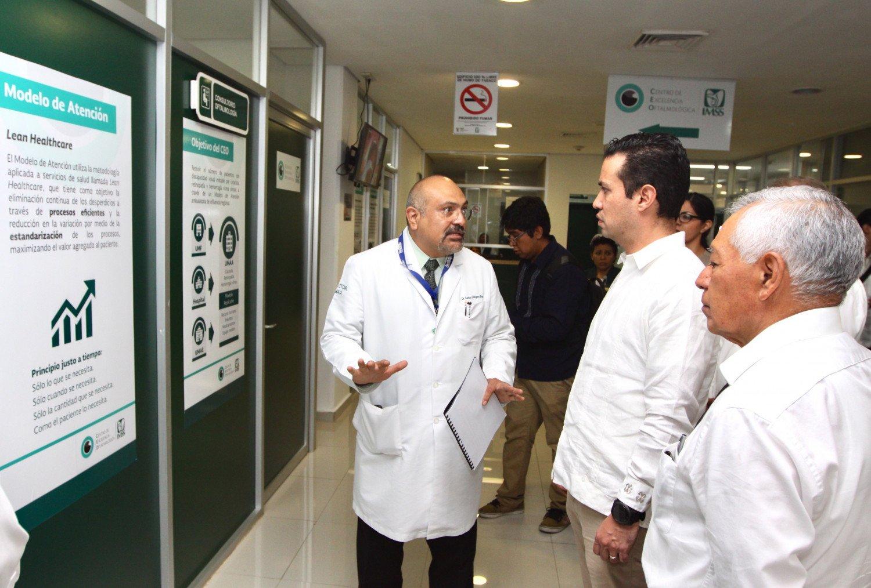 Invierte IMSS 570 millones en clínicas y equipo médico en Yucatán