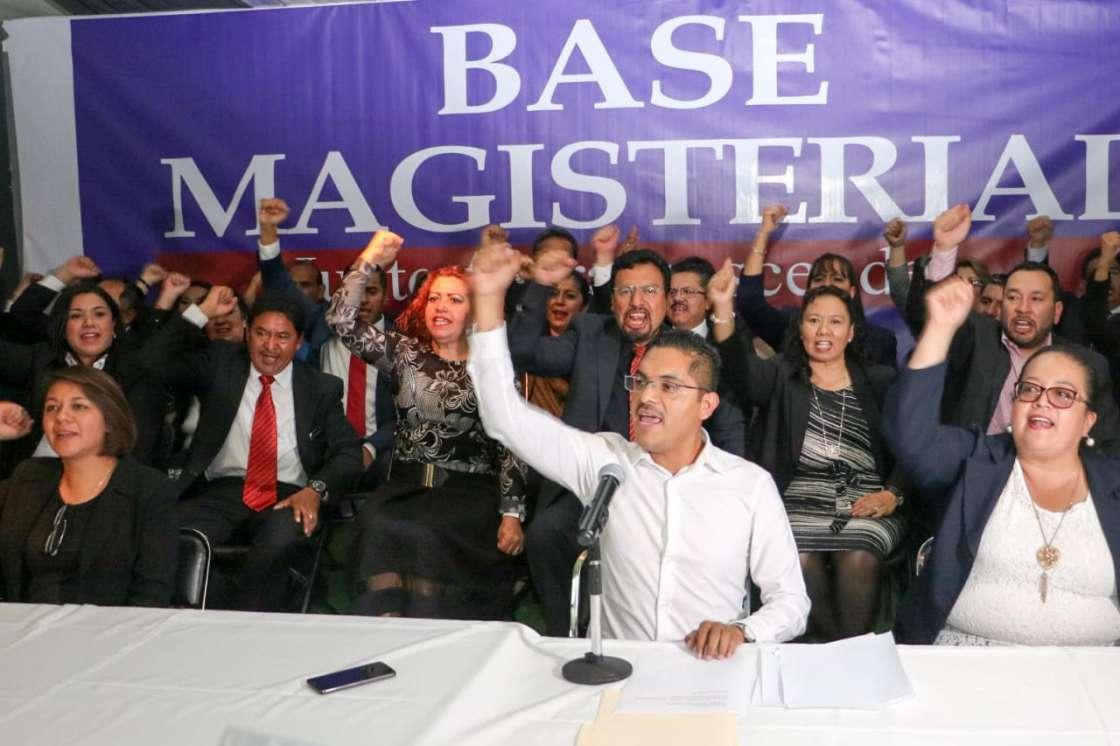 José Manuel Uribe, el nuevo líder del SMSEM 2018-2021