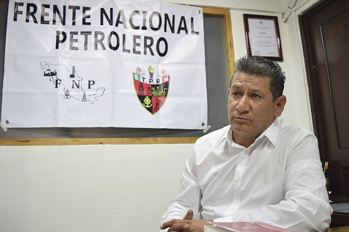 Limpiar la imagen del sindicato petrolero, meta de Morales Quintana