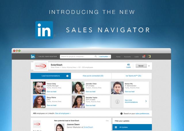 LinkedIn lanza plataforma para ventas corporativas