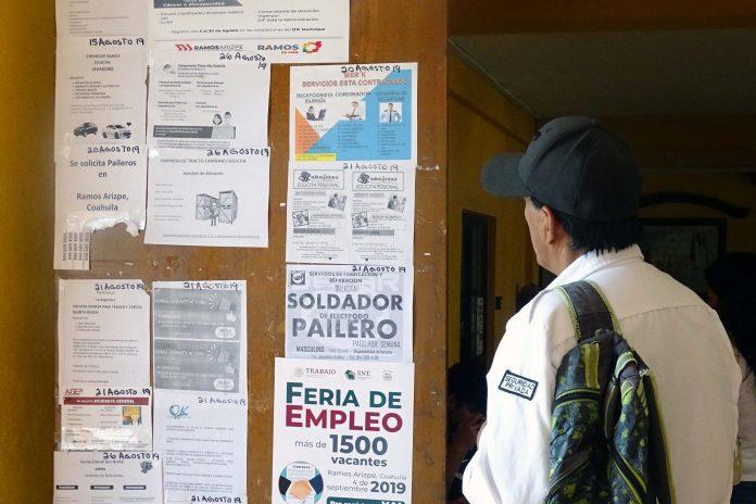 """Los economistas alertan por el riesgo de """"desempleo estructural"""" en México"""