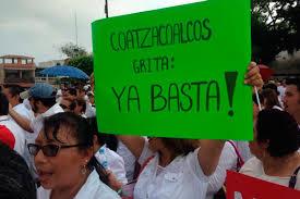 Marchan otra vez en Veracruz por seguridad de médicos