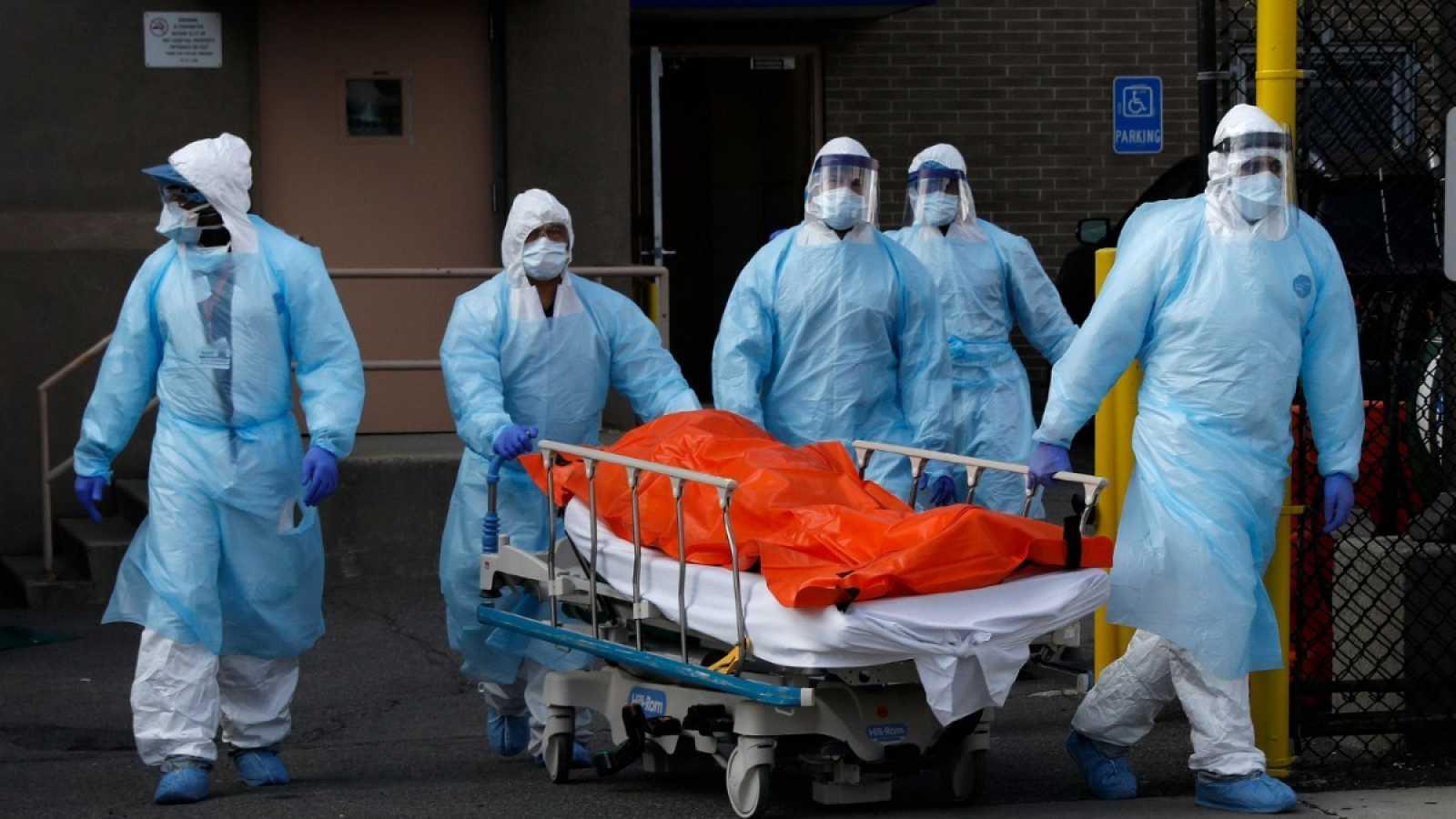 Matazón: 1,092 muertos por coronavirus en 24 horas