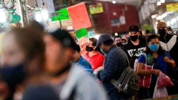 México supera los 300,000 contagios de Covid-19