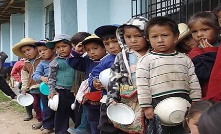 Mina a 3.5 millones de niños anemia y desnutrición