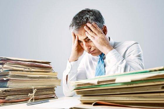 Motivos más frecuentes del estrés laboral