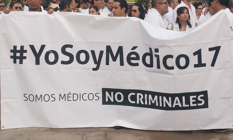 Movimiento #yosoymédico17 suspende marcha