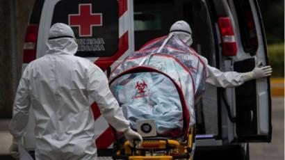 Muertes por Covid-19 en México ascienden a 27,121