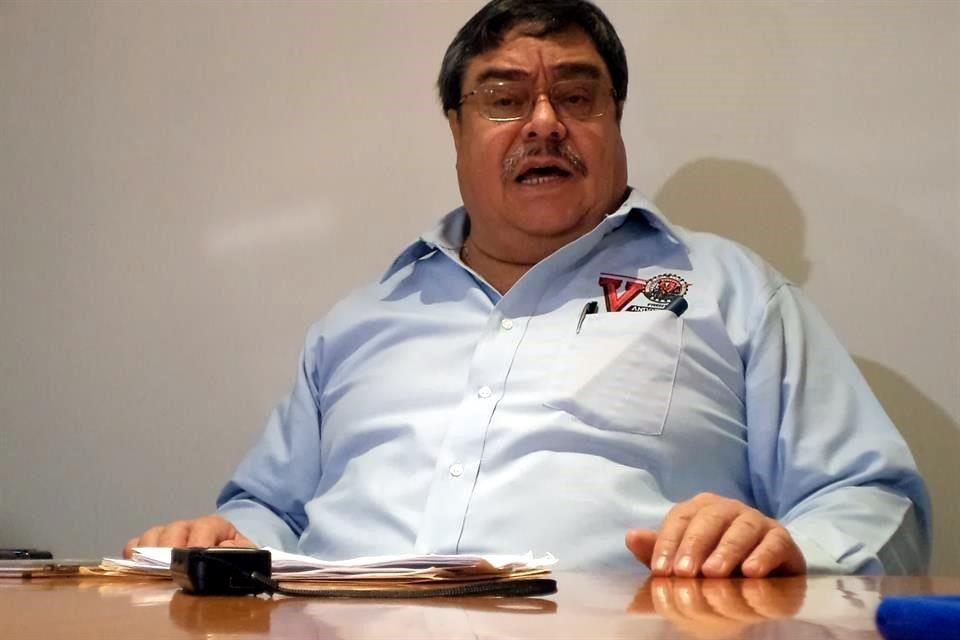 """Napito, un """"gánster"""" y un """"ratero"""", acusa dirigente minero"""