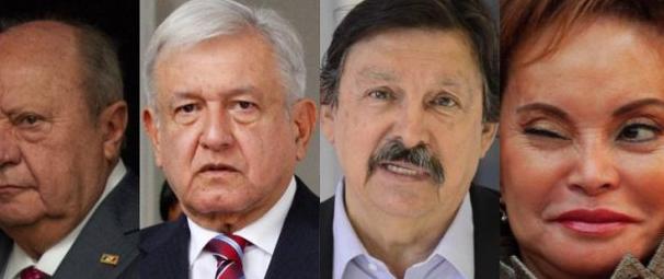 Niega AMLO compromisos con Gordillo, Romero Deschamps y Gómez Urrutia.