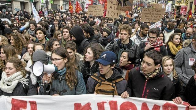 No ceden protestas por reforma laboral en Francia