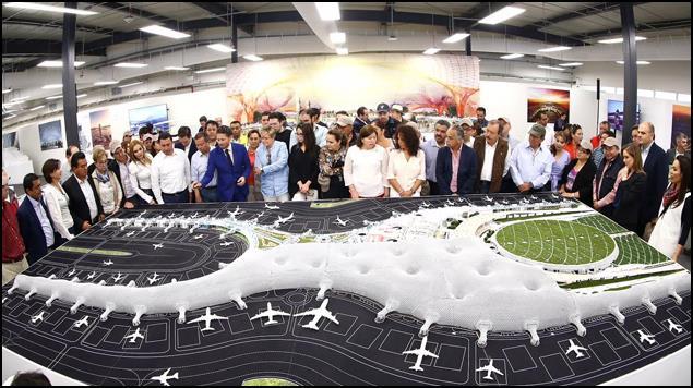 Nuevo AICM generará más de 100 mil empleos, asegura SCT