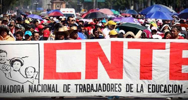 ONG internacionales respaldan a la CNTE