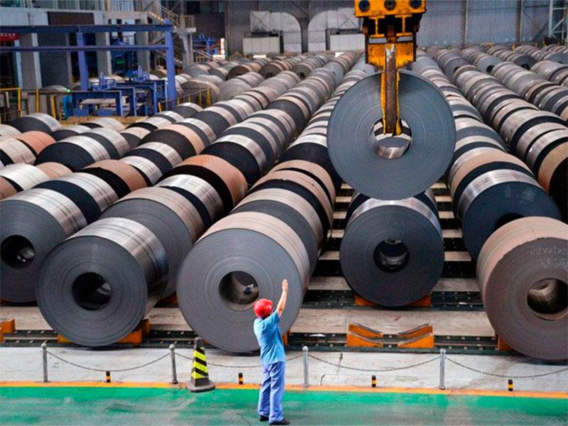 Paraliza CNTE producción de acero