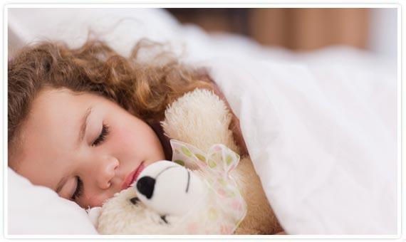 Peluches como apoyo para los niños con insomnio