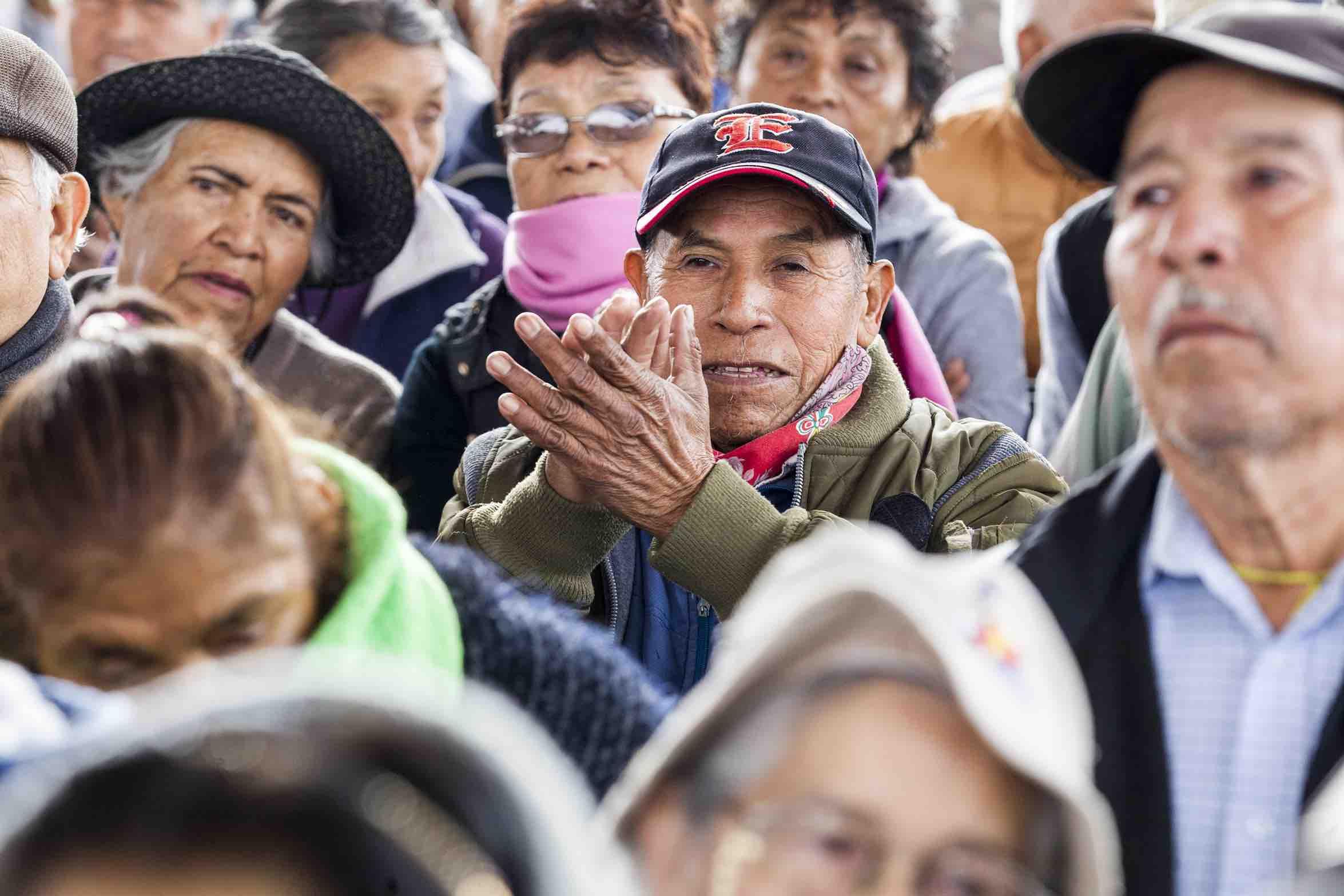 Pensión a 8 millones 500 mil adultos mayores