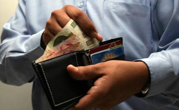 Pesan menos salarios en PIB